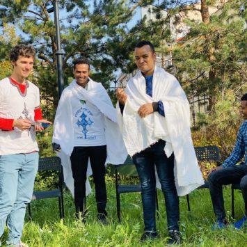 Православный приход встретился с эфиопской молодежью Санкт-Петербурга