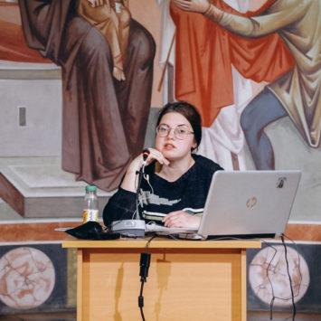 Софья Фомичева выступила с лекцией о Ефреме Сирине