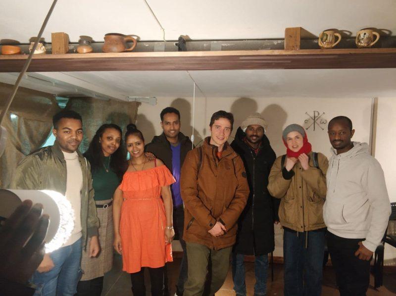 Состоялась очередная встреча эфиопского клуба
