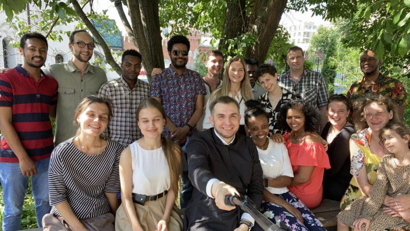 Состоялась июньская встреча братства Девы Марии (русско-эфиопский клуб Махбэрэ Мариам).